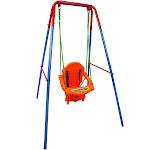 Outdoor Backyard Playground Children Swing Set with Rope