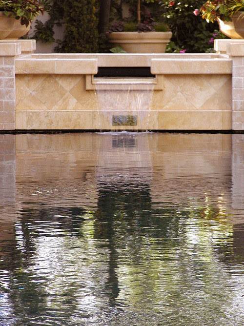 AMS Landscape Design Studios mediterranean pool