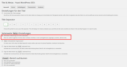 WordPress SEO: Plugin richtig konfigurieren – Pressengers