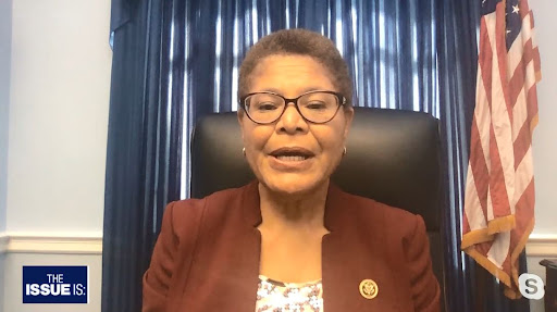 """Avatar of Rep. Karen Bass: """"the country is ready for"""" policing reform"""