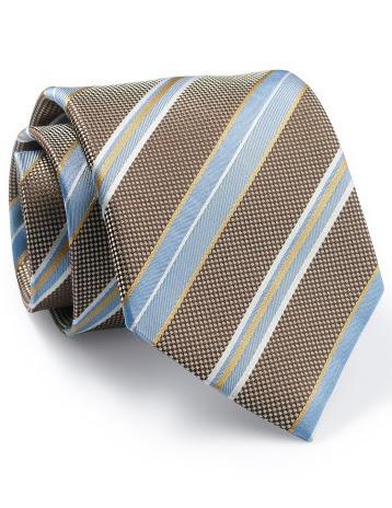 Mẫu Cravat Đẹp 27 - Đồng Phục Màu Sọc Vàng