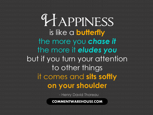 Happiness Is Like A Butterfly Quote Commentwarehousecom