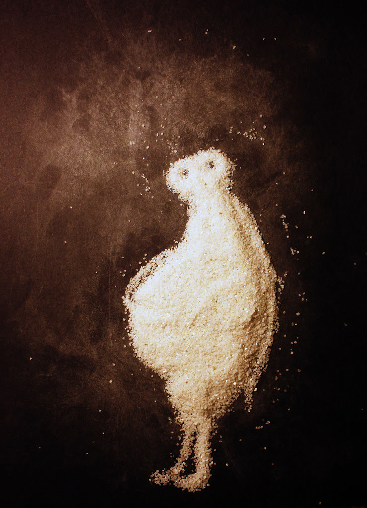 The Pregnant Sand Creature