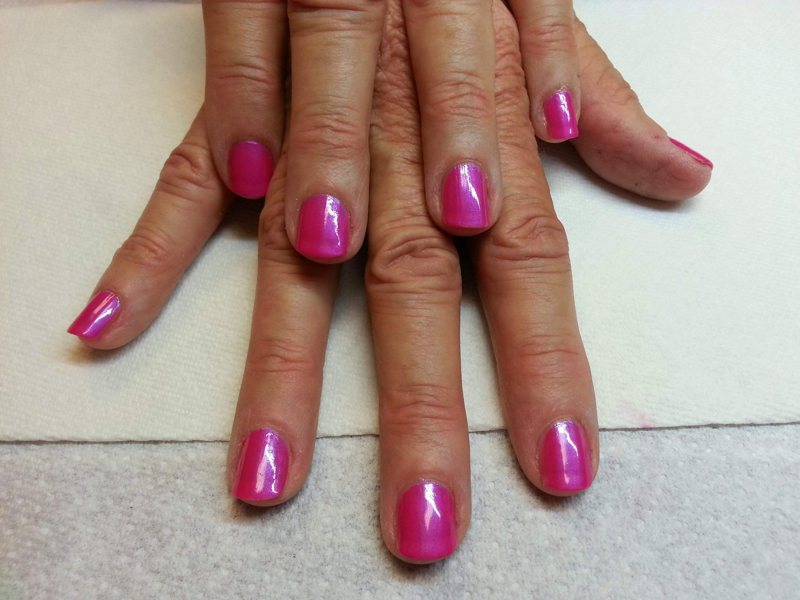 Natural Nails Polished