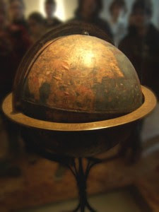 马丁·贝海姆所制作的地球仪,位於纽伦堡(Nuremburg)。