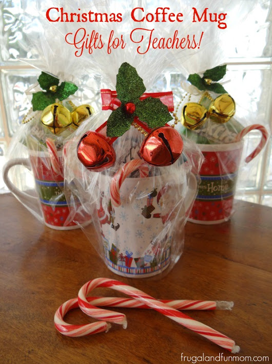 Christmas Coffee Mug Gifts For Teachers! #PackInMoreMemories - Frugal and Fun Mom/ Florida Mom Blog, Recipes, Crafts, Family Fun