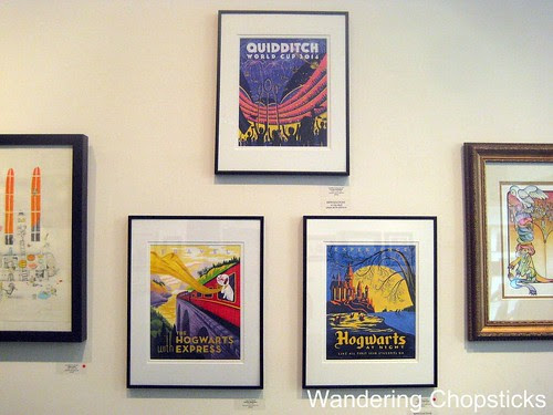 Harry Potter Tribute Exhibition - Nucleus Art Gallery and Store - Alhambra 25