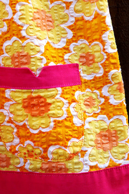 Icecream Social dress pocket