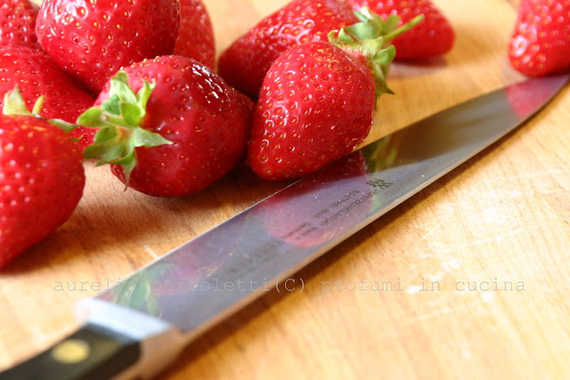 Fragole e coltello wmf