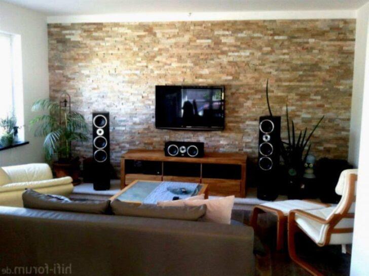 Wohnzimmer Ideen Wandgestaltung Tapete 33 Reizend Streifen ...