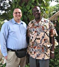 John Divito and Solomon Nkesiga