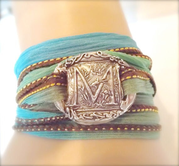 YourDailyJewels Shop on Etsy monogrammed jewelry