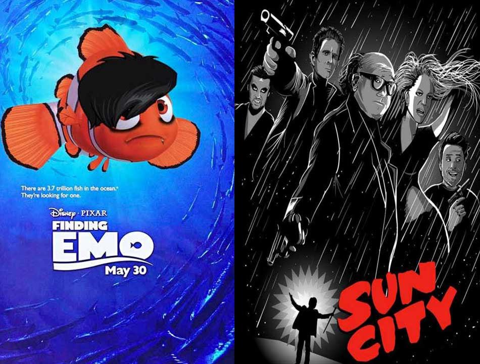 Resultado de imagem para funny movie posters