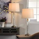StyleCraft 1259952 Beachwood 2-Pack Table Lamps