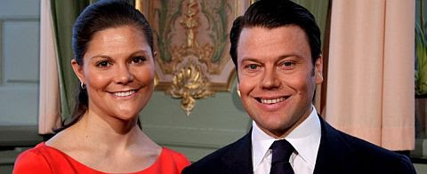 Victoria de Suecia y Daniel Westling. | Foto: Efe