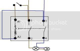 How To Wire A Contactor Student Learning Zone City Guilds Talk Electrician Forum