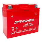 Banshee 12B-BS-Banshee-006 12V 10Ah GT12B-4 YT12B-BS GS-GT12B-4 WP12B-4 Replacement Motorcycle Battery, As Shown