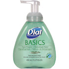 Dial Basics Foaming Hand Soap, Honeysuckle, 15.2 oz Pump Bottle