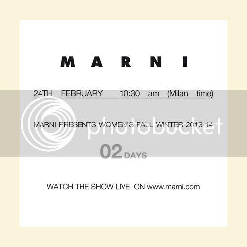 Marni fall winter 2013/14 show