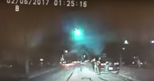 Fireball zooms across Midwest sky, possibly landing in Lake Michigan