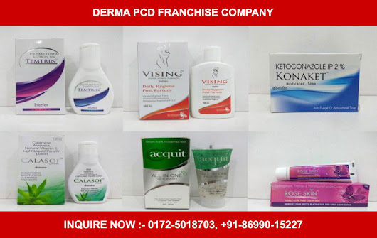 Looking for derma products franchise company in India?