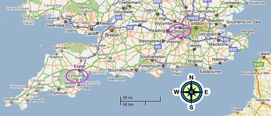 Map South Coast Uk Map Of England South Coast ~ AFP CV Map South Coast Uk