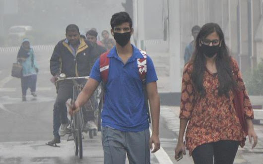 Blame game over Delhi air pollution begins
