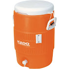 Igloo 42316 5 Gallon Seat Top Beverage Cooler - Orange