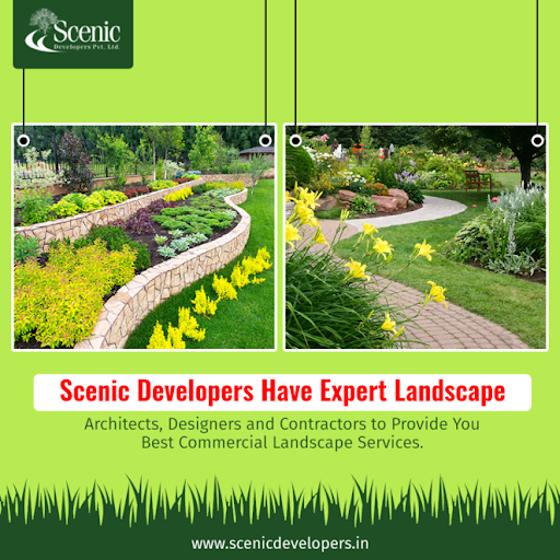 What are the benefits of hiring a landscape contractor for the garden