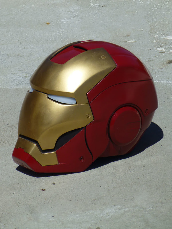 Ironman Helmet Left Angle