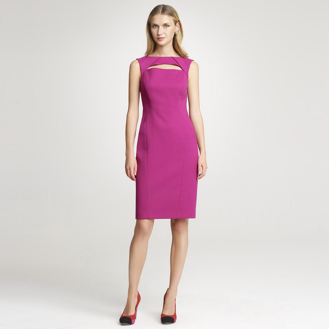 Anne Klein Fitted Sheath Dress