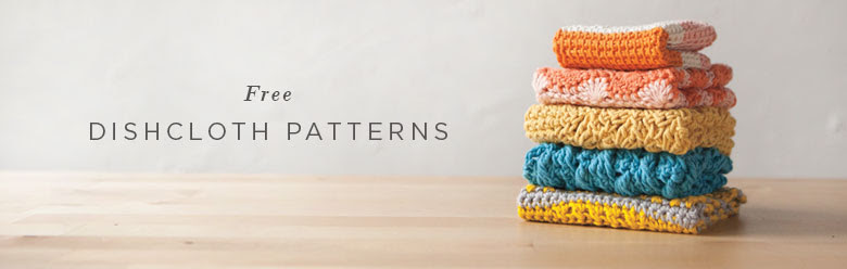 52 Weeks of Free Dishcloth Patterns
