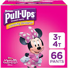 Pull Ups Learning Designs Training Pants, 3T-4T (32-40 lbs), Disney - 66 each