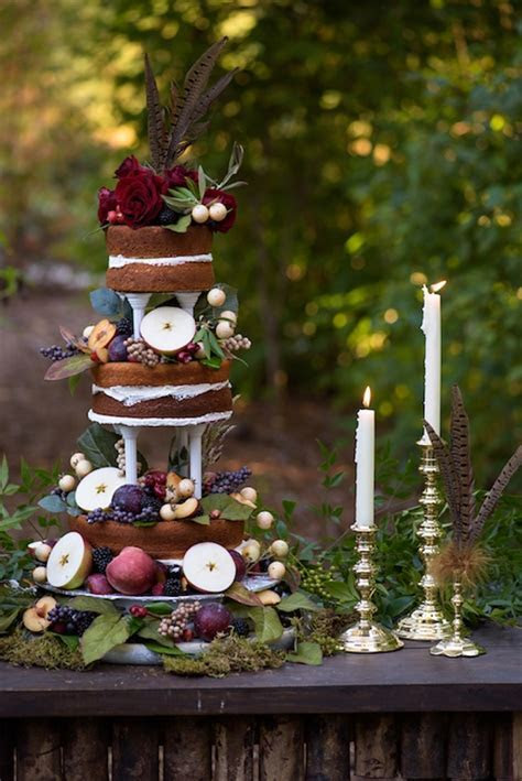 Rustic Autumn Wedding Inspiration   Tidewater and Tulle