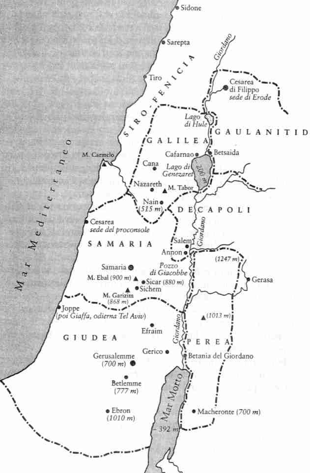 Risultati immagini per giudea mappa