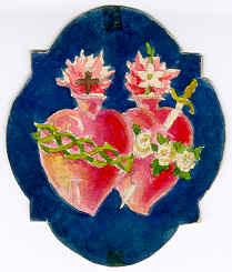 English: Emblem of the Missioners dels Sagrats...
