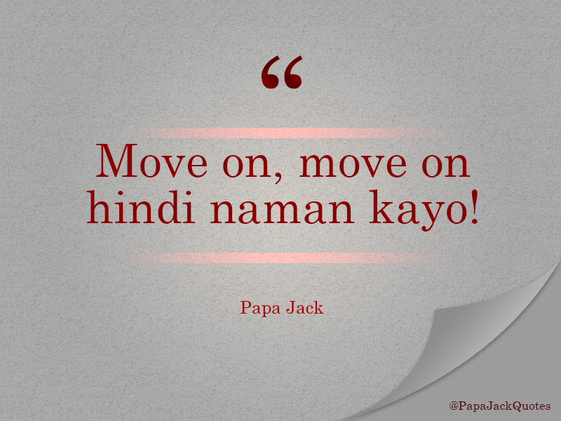 Move On Move On Hindi Naman Kayo Love Radio Manila