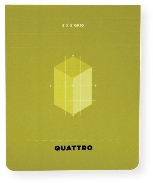 Hand Book Journal Co 35531 Quattro 45 X 35 Grid Journal Quattro