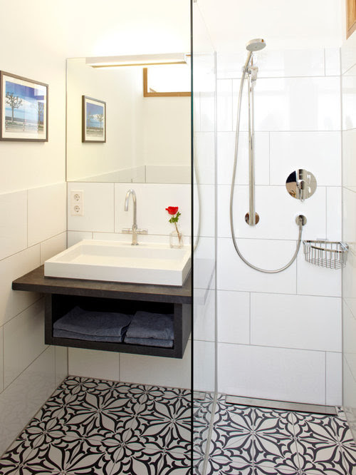 Small Bathroom Floor Tile Home Design Ideas, Pictures ...