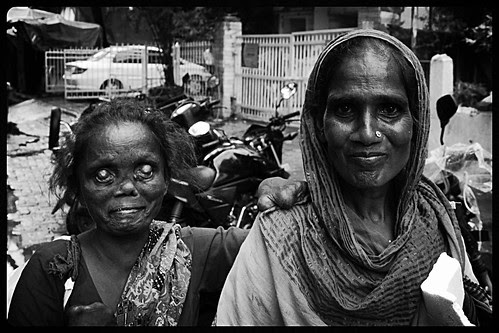 They Converted To Christianity..Hoping That Jesus Would Heal Them by firoze shakir photographerno1