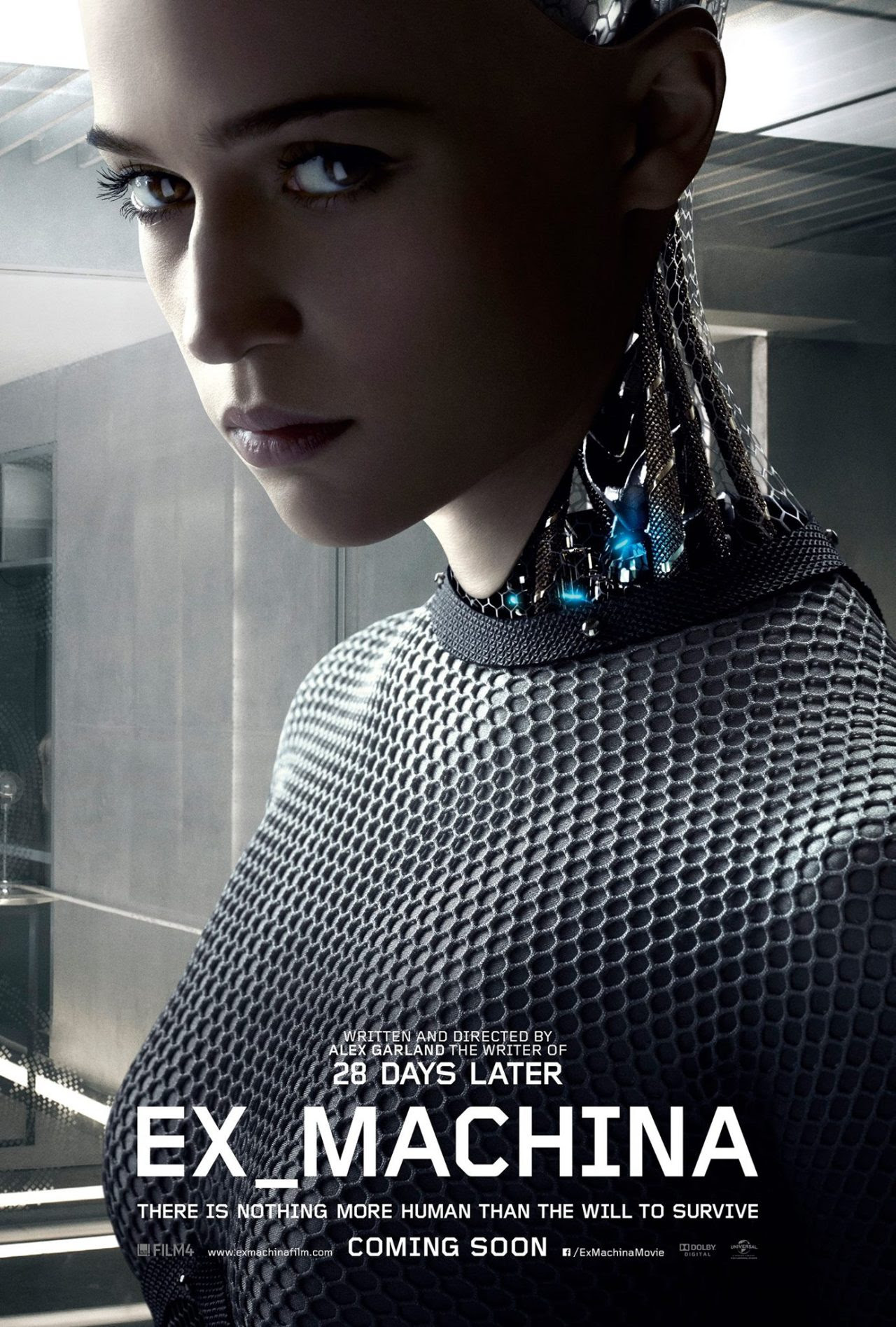 poster for Ex Machina. Click to see more!