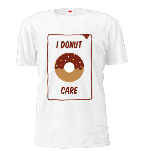Donut Food Printed T shirts| TeeDaddy