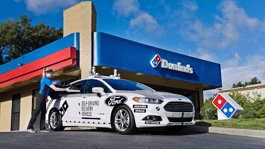 Domino's and Ford will test self-driving pizza delivery cars in Michigan