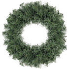 Northlight 18 in. Artificial Canadian Pine Unlit Christmas Wreath
