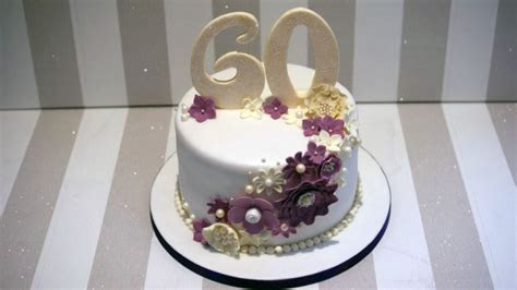 60th Wedding Anniversary Cake   Bakealous
