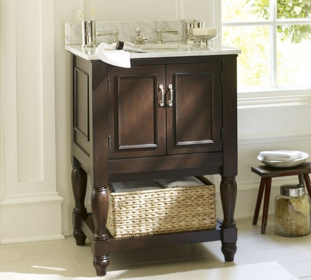 Bathroom Vanity Pottery Barn mini sink consoles | fa123456fa