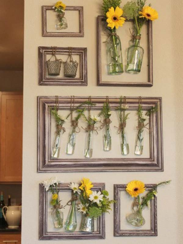 35 Fantastic Ways to Repurpose Old Picture Frames ...