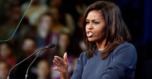 Michelle Obama blasts Trump, says his comments have 'shaken me to my core'