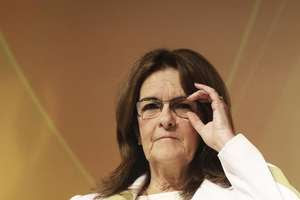 A presidente da Petrobras, Graça Foster, teria se oferecido para falar no Senado Foto: Nacho Doce / Reuters