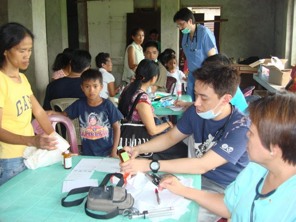 Medical mission for the poor of Pandan